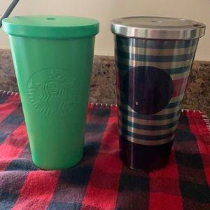 Starbucks stainless steel bundle